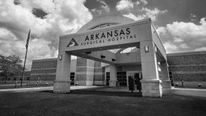 Arkansas Surgical Hospital front entrance